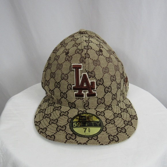 4b1fa8b704714 New Era LA Dodgers Gucci Hat Cap MLB Baseball